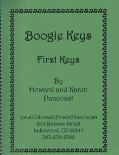 Boogie Keys - First Keys by Howard & Karen Pancoast