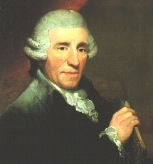Haydn portrait by Thomas Hardy, 1792