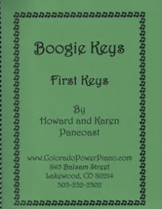 Boogie Keys First Keys By Howard and Karen Pancoast